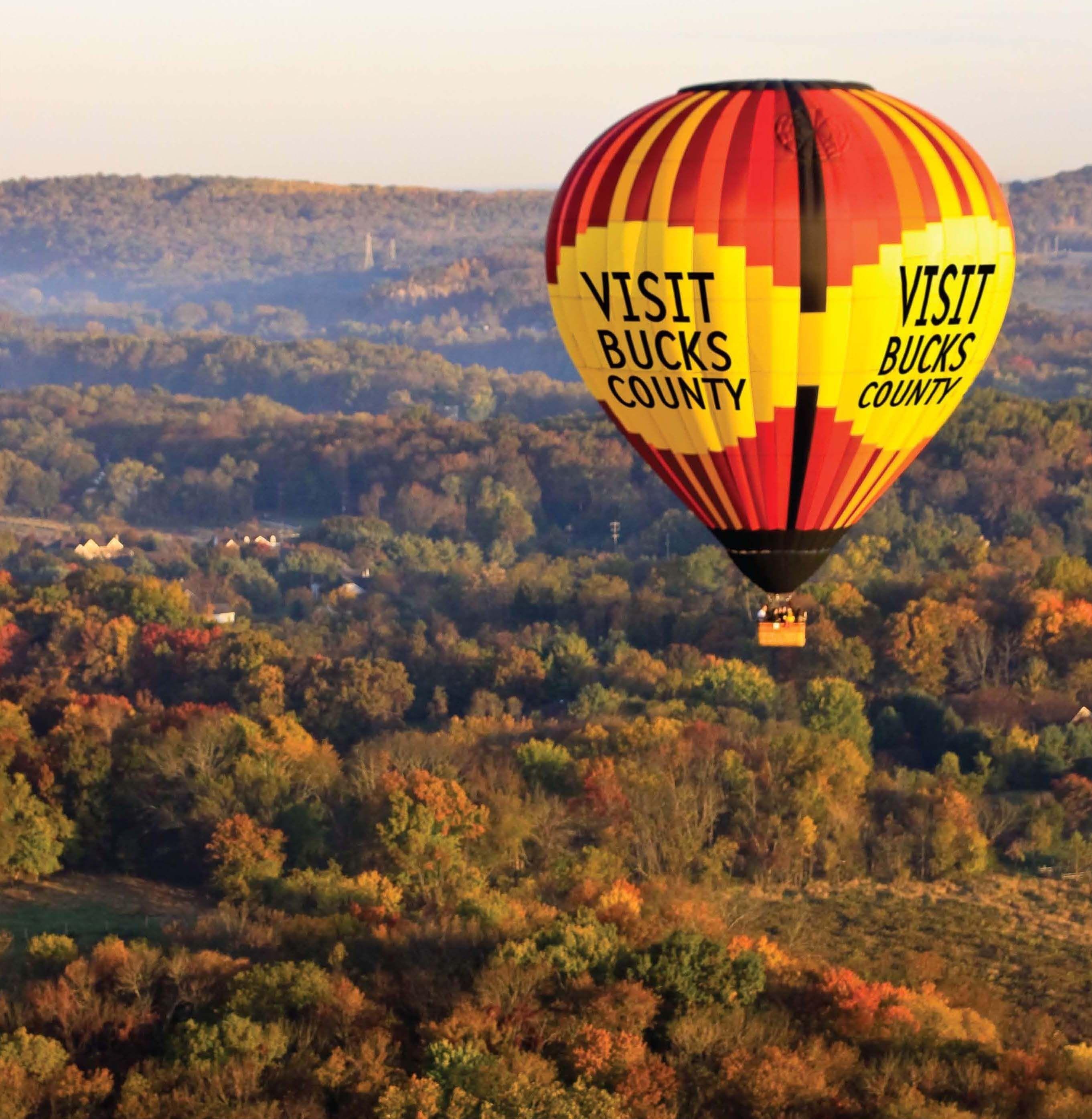 Hot Air Balloon Rides in Bucks County, PA, Lehigh Valley