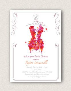 Lingerie shower invitations on etsy party ideas pinterest lingerie shower invitations on etsy filmwisefo