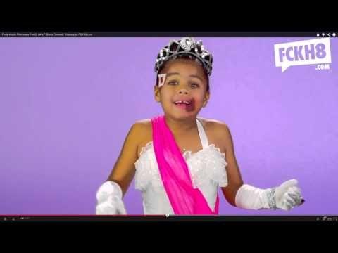 Potty-Mouth Princesses Part 2: Girls F-Bomb Domestic Violence by FCKH8.com - Response