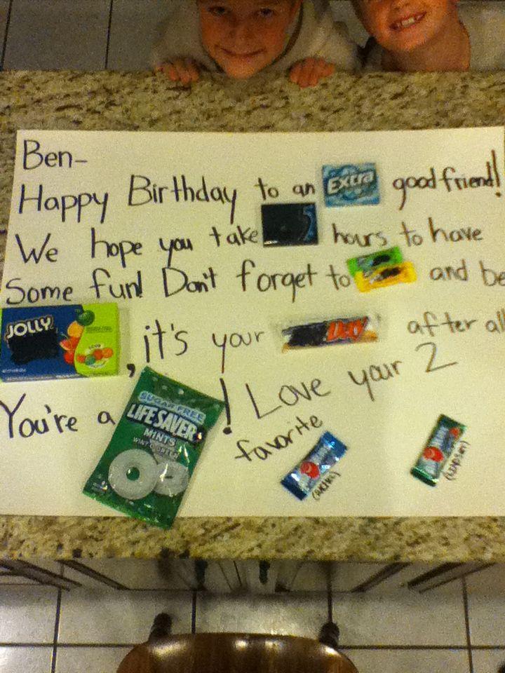 Best guy friend present Guy friend gifts, Birthday gifts