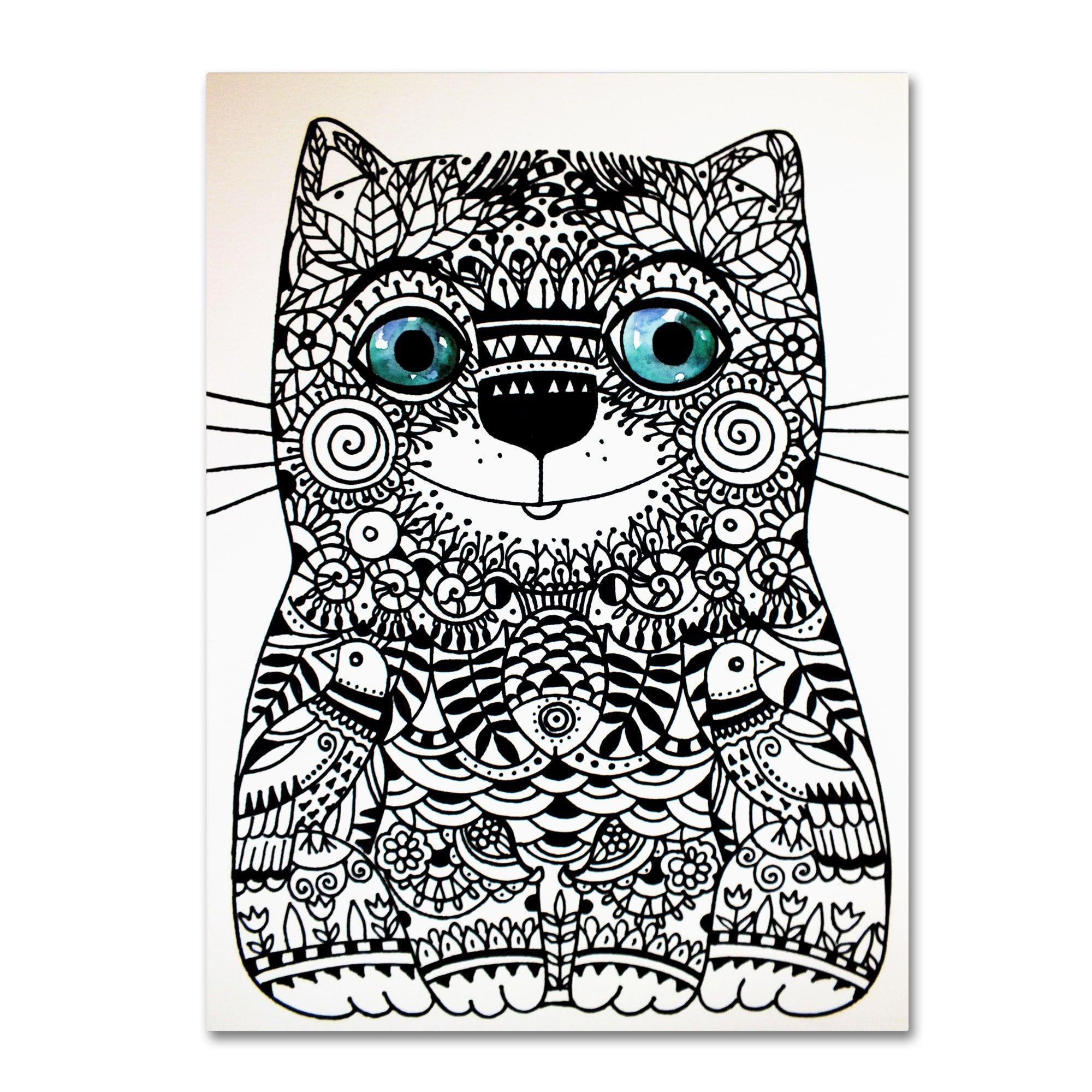 Oxana ziaka uhappy catu canvas art products pinterest canvases