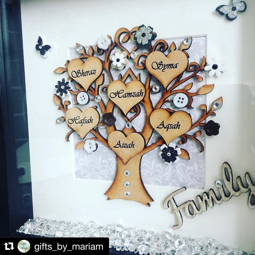 Repost giftsbymariam with repostapp family tree box frame