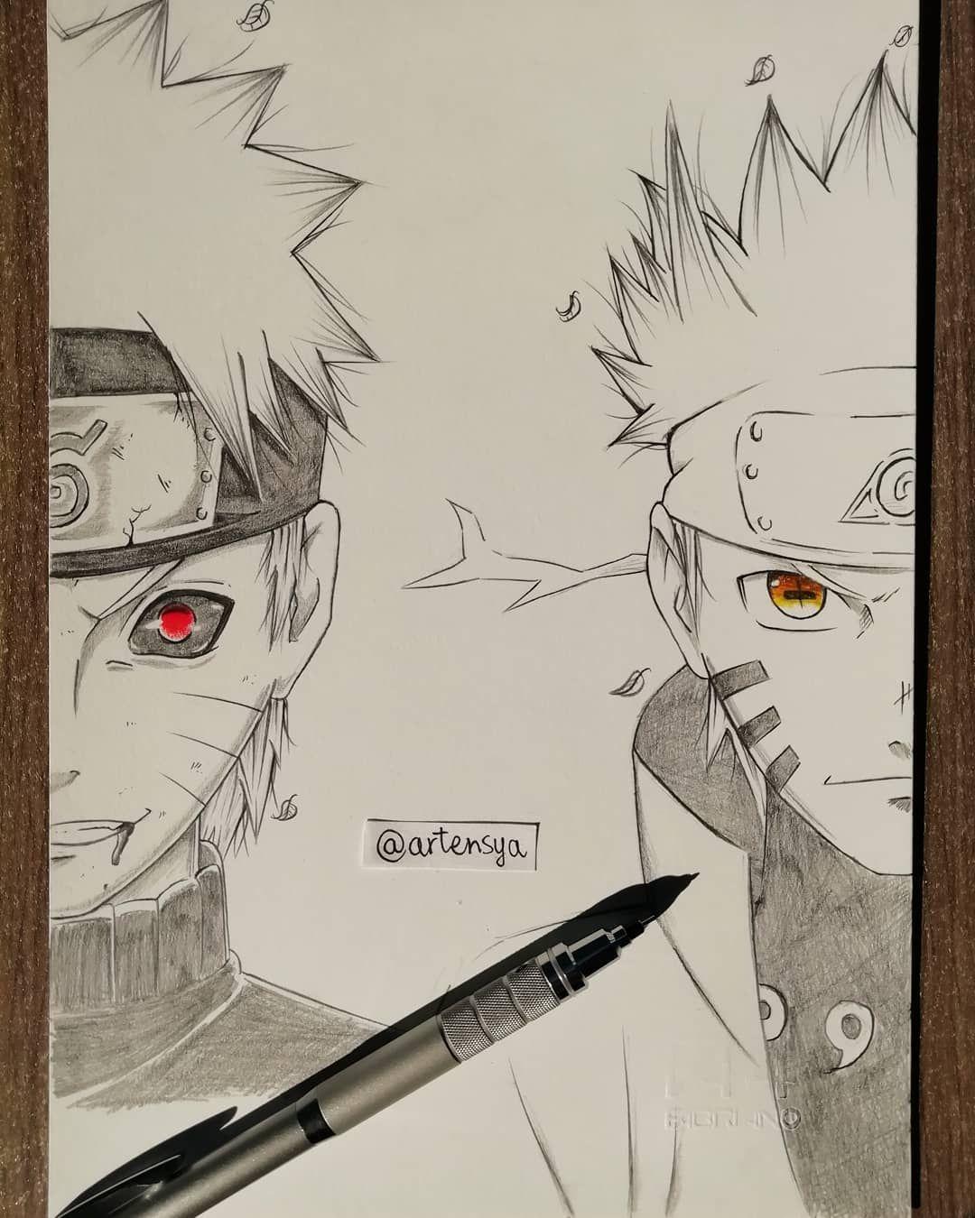 "Evil Naruto or Hero Naruto? ""I won't run away anymore... I"