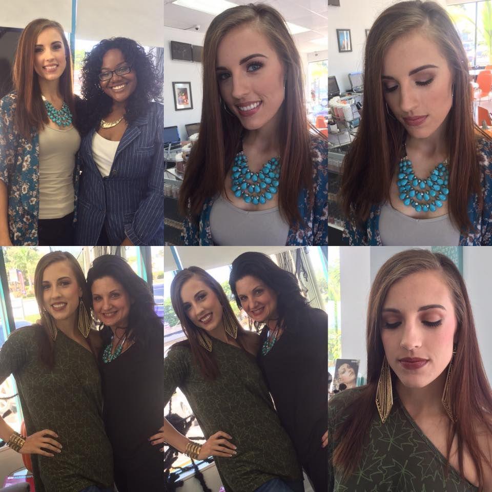LuLaRoe Monroe and Irma tops modeled at Cosmix School of