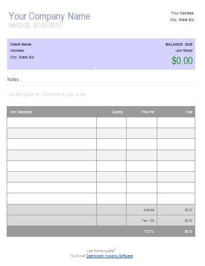 Business Invoice Sample Business Invoice Template To Create - Create business invoice
