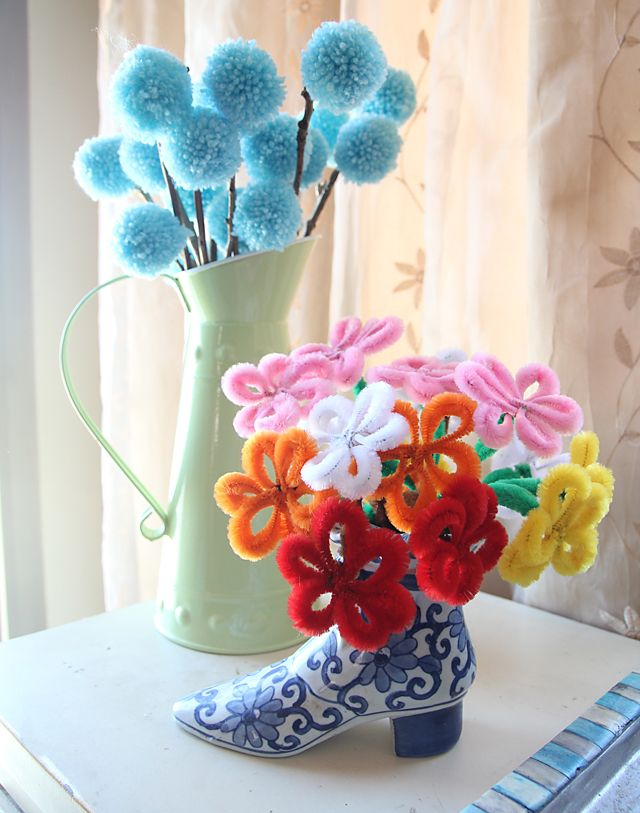 Diy Bouquet Fake Flowers Paper