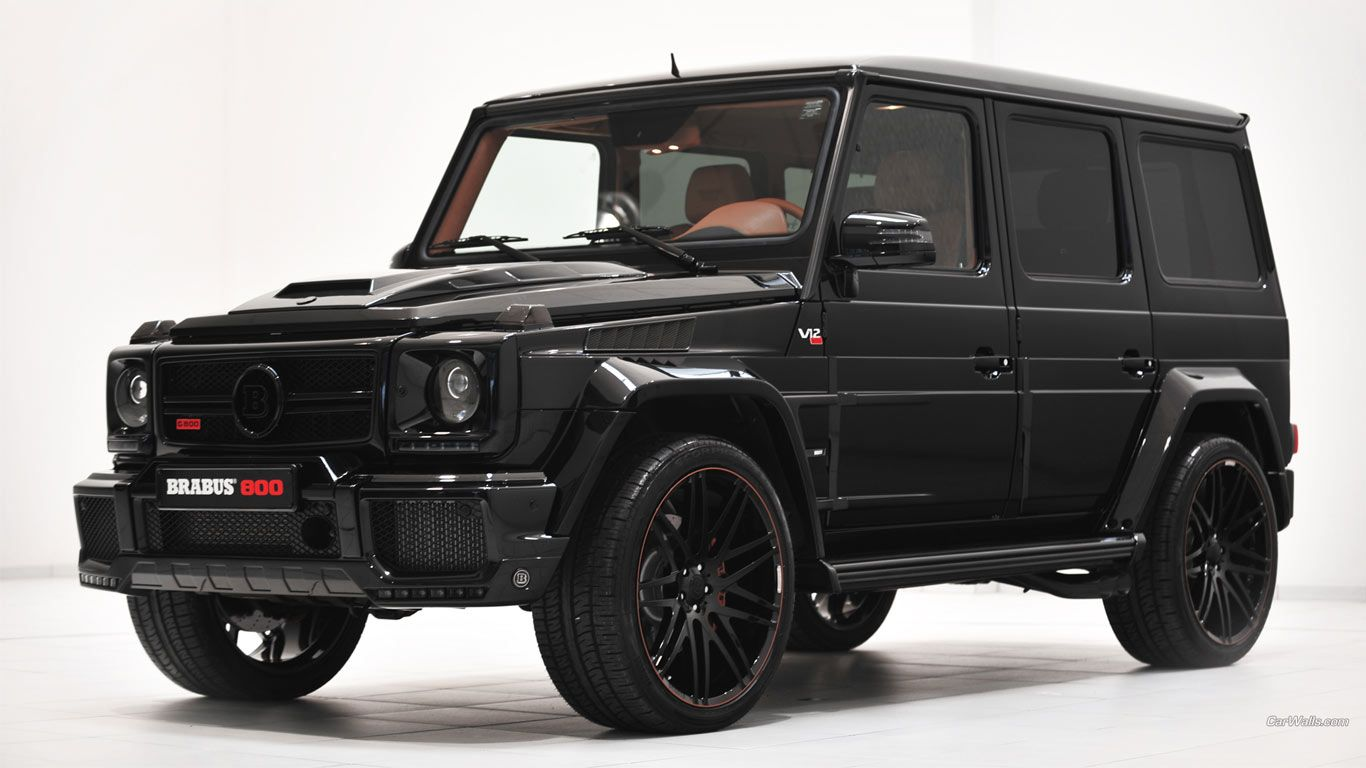 Mercedes benz g class customized by brabus trucks for Jeep mercedes benz