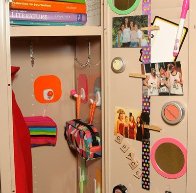 Locker Decorations School Locker Decorations School Diy School Locker Organization