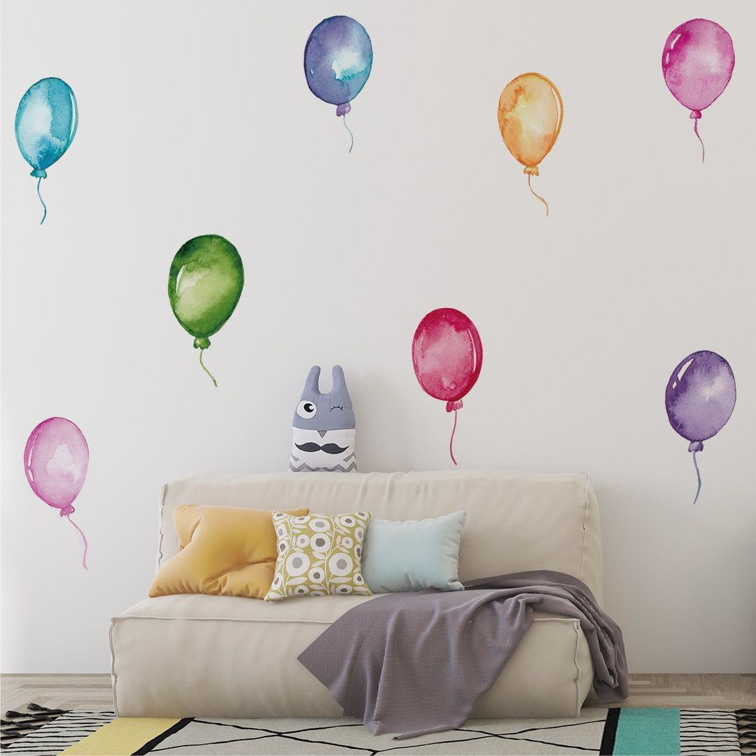 Stickers – Set With Balloons