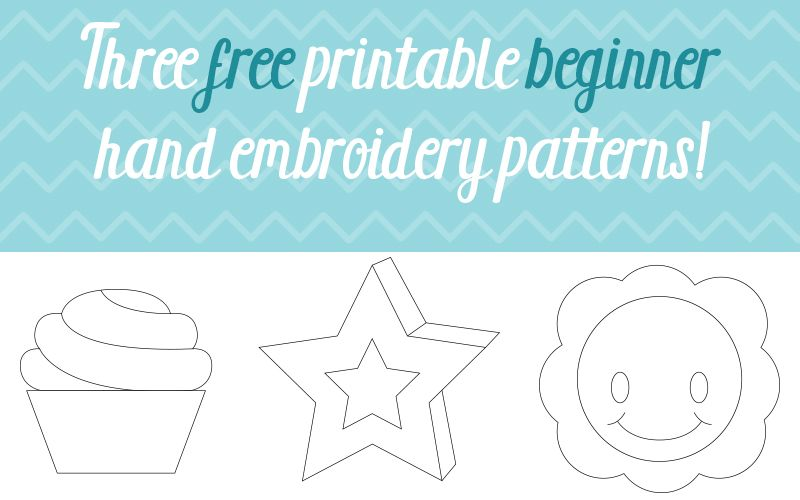 Free Hand Embroidery Designs for Beginners - Free embroidery pattern
