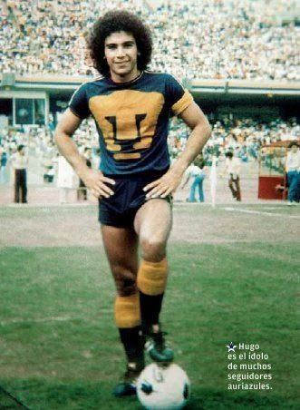 115d91d34 Hugo Sanchez of UNAM Pumas   Mexico in 1980.