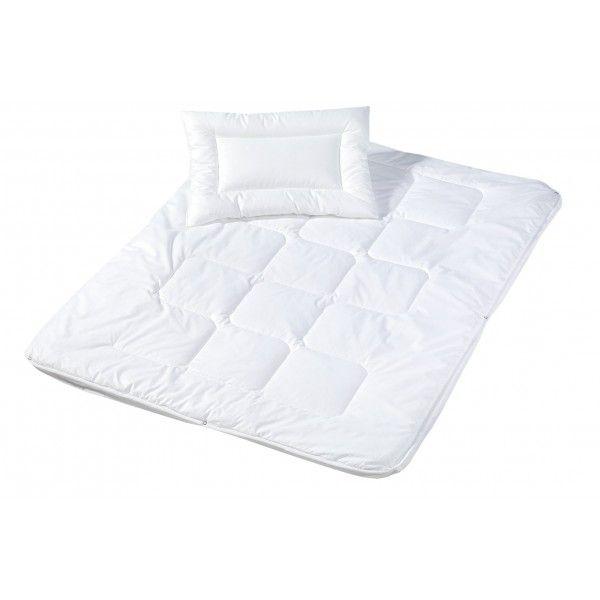 100 x 135 cm//40 x 60 cm Juego de edred/ón y almohada infantil aptos para cualquier estaci/ón del a/ño Julius Z/öllner 4121130000