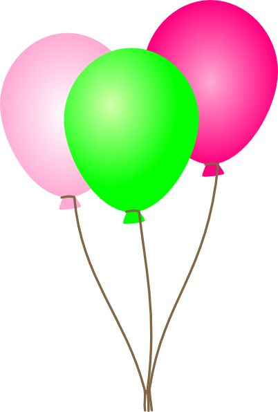 Image From Http Images Clipartpanda Com Green Balloon Clipart Pink Green Balloons Hi Png Ideias Instagram Balao Ideias