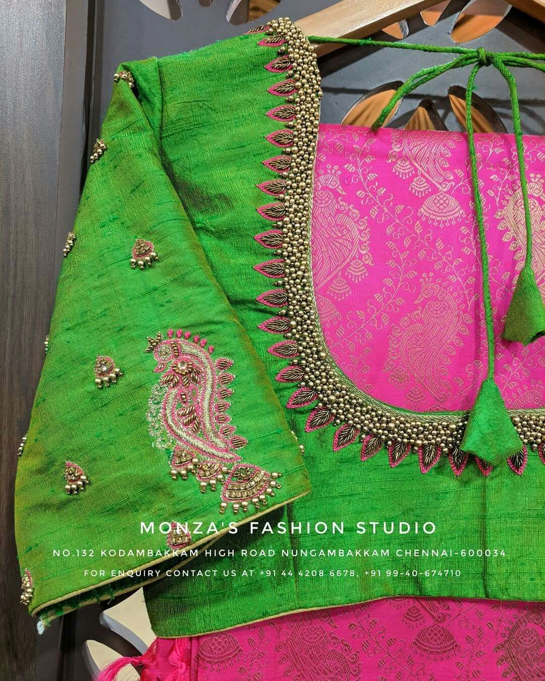 Half saree blouse design pin by geetha on saree blouse  pinterest  blouse designs design