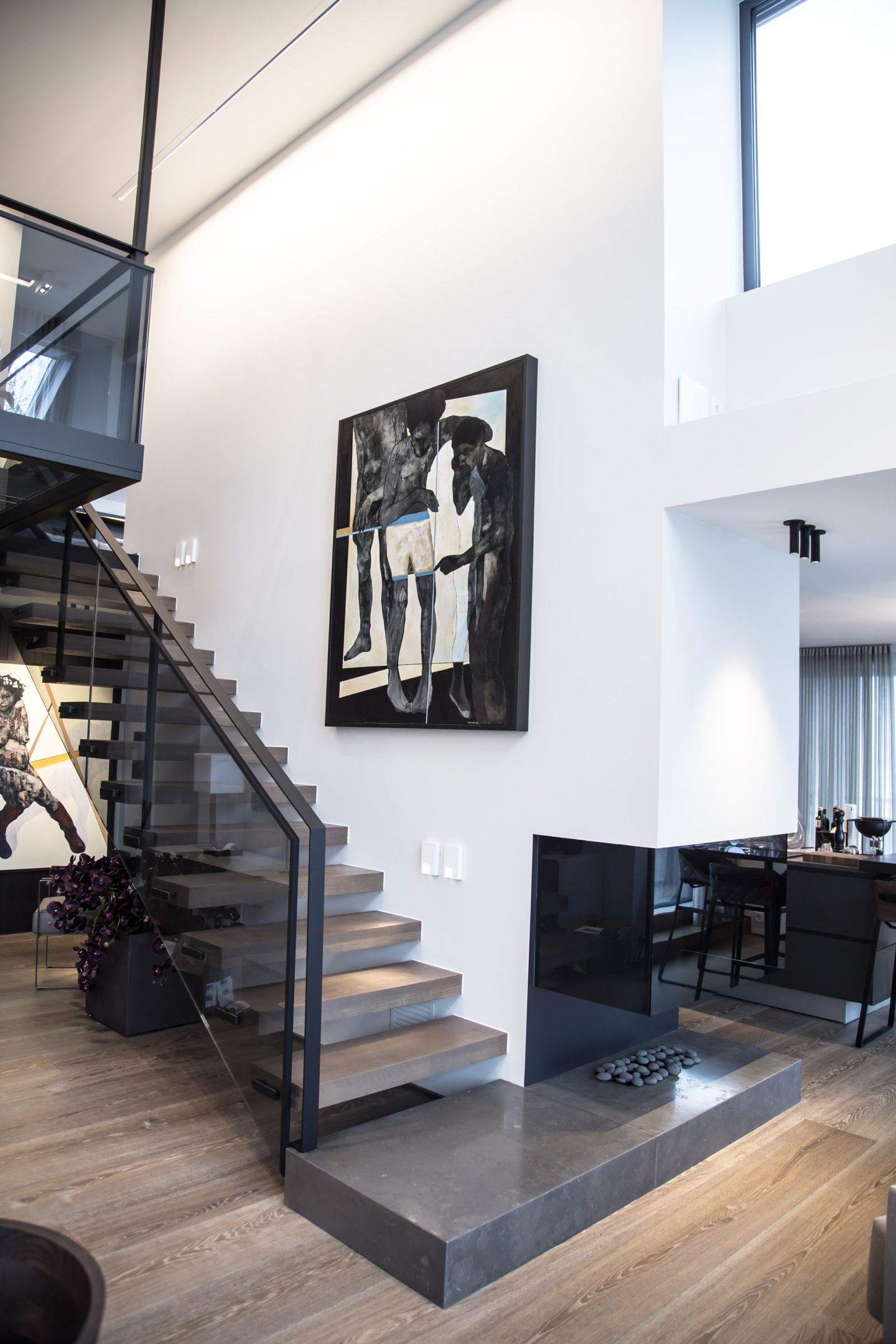 penthouse oslo designed by norwegian interior architect firm