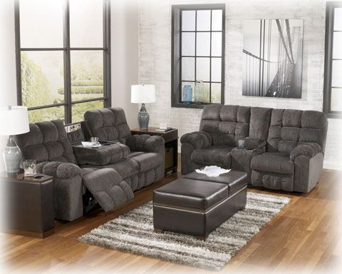 Plush Sturdy And Practical With Great Add Ons Like A Sectional Wedge With Power Outlets And Sectional Sofa With Recliner Living Room Sets Reclining Sectional
