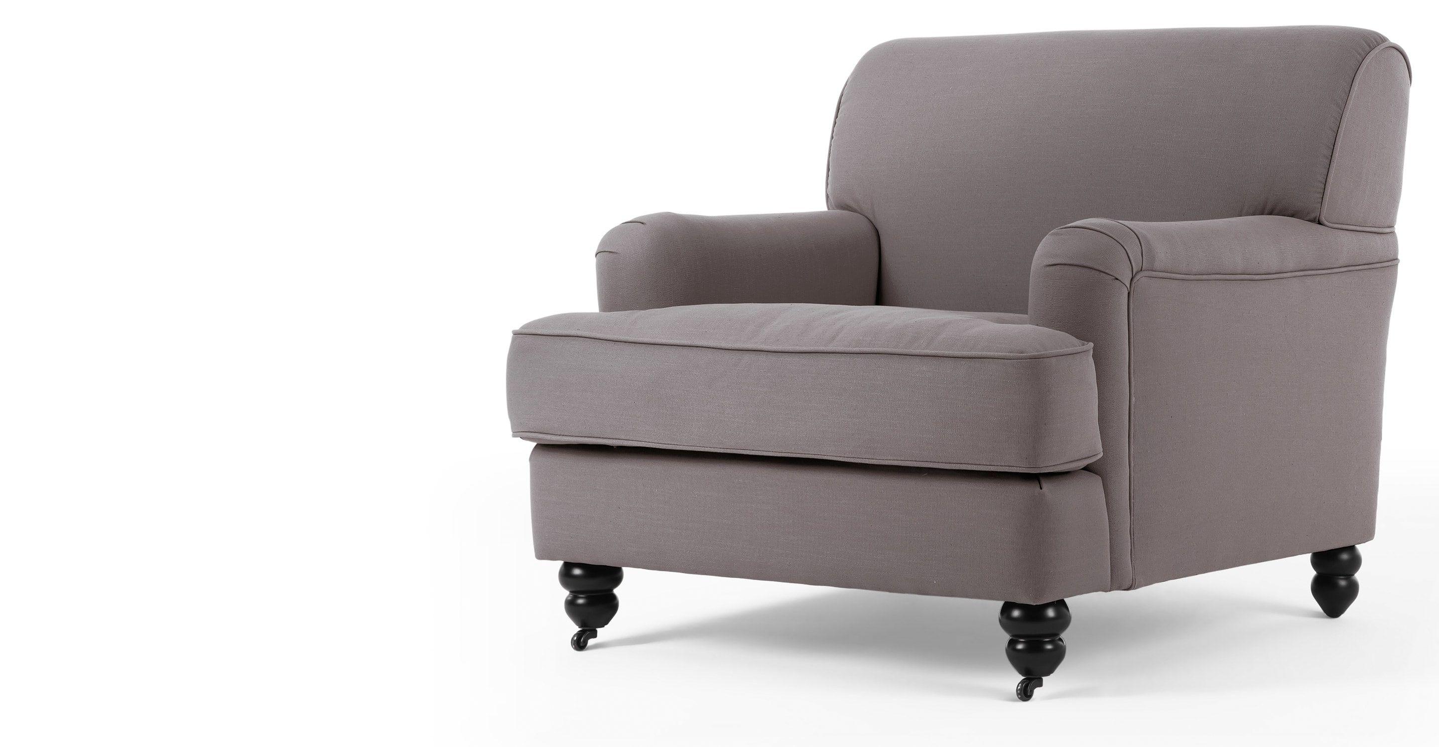 Orson Armchair, Graphite Grey