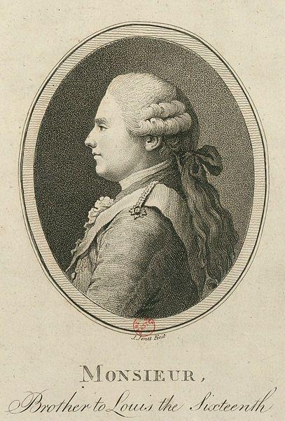 Portrait de Louis XVIII de France - 1794.