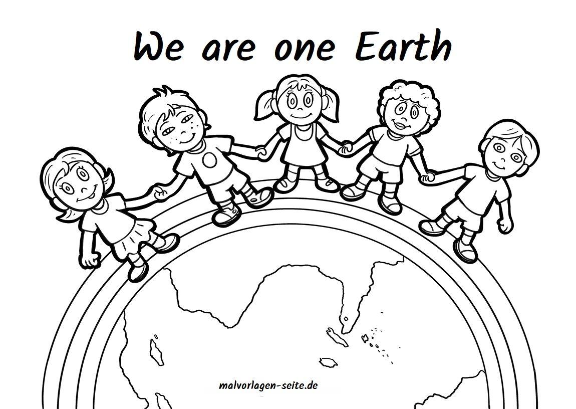 Children Of The Earth Kinder Dieser Erde Free Coloring Pages For Kids Translation Button Available Ausmalbilder Kostenlose Ausmalbilder Ausmalbilder Kinder