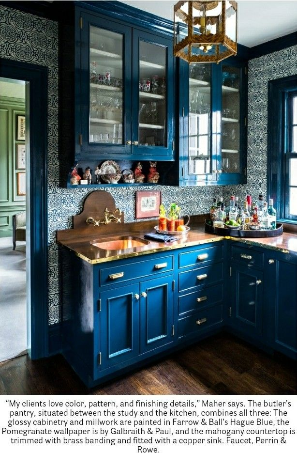 House Beautiful magazine 12/17-1/18   Design: Kitchen   Pinterest ...