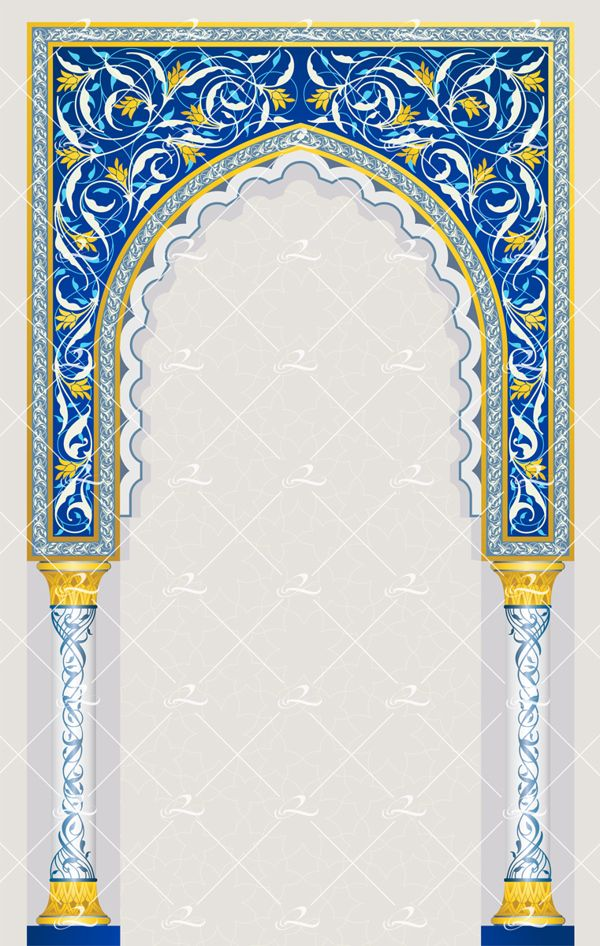 Islamic Arch Design By Roberto Chicano Via Behance Islamic Art Calligraphy Islamic Art Pattern Islamic Design