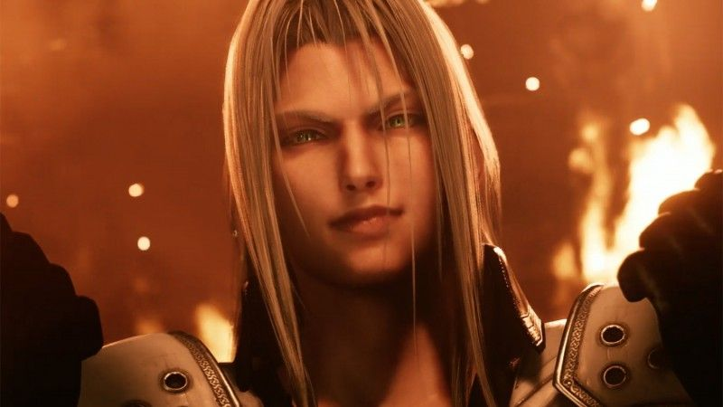 Sephiroth And Tifa Appear In New Final Fantasy Vii Remake