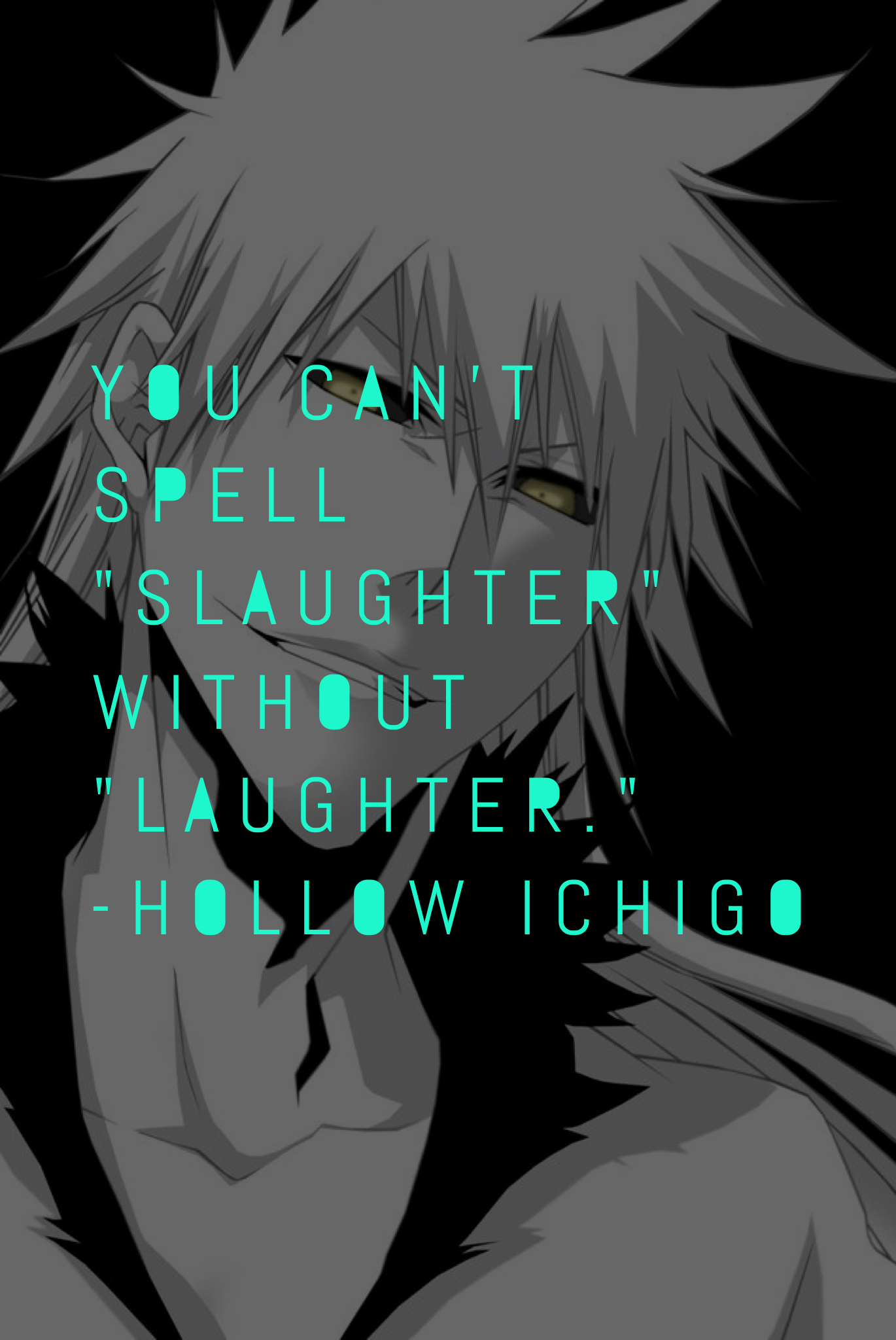 animation character quote • hollow ichigo | ANIMATION | Pinterest