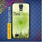 Think Green Samsung Galaxy S4 Case I9500 #Samsung Galaxy S4 #Samsung Galaxy S4 #PhoneCase #Samsung Galaxy S4 Case #Samsung Galaxy S4 Case