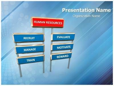 The Template Wizard Powerpoint Templates Powerpoint Human Resource Management