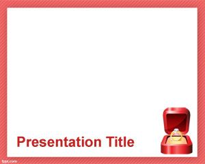 Engagement Powerpoint Template Is A Free Powerpoint Background