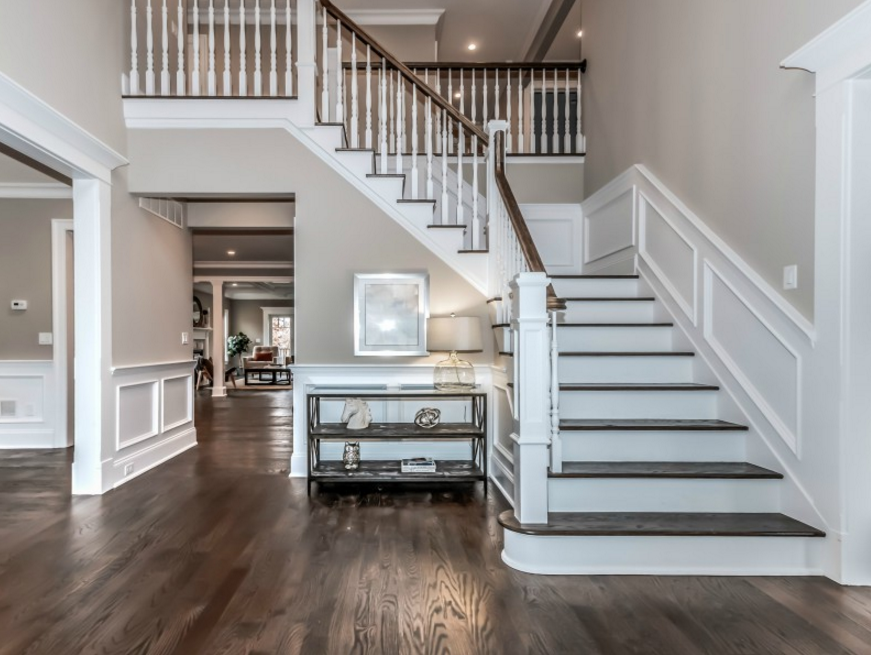 Best 2 Story Foyer W Staircase Stairs In Living Room House 640 x 480