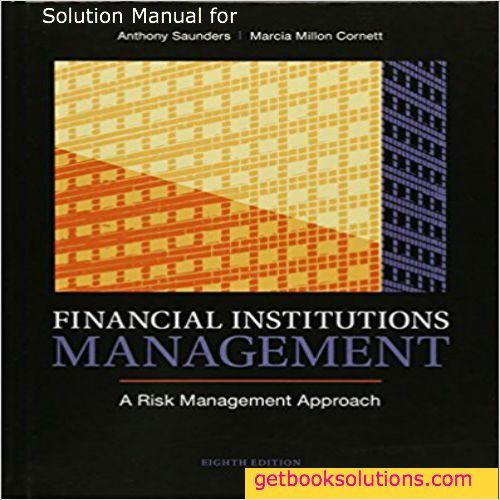 solution manual for financial institutions management a risk rh pinterest com Financial Institutions List Financial Institutions List