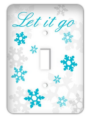 Disnet Frozen light switch cover - Frozen Home Decor/Bedding - Addicted To Disney Frozen Boutique