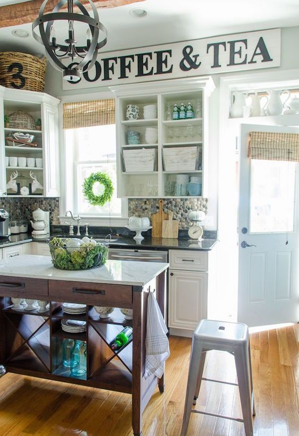 32 Cozy Vintage Kitchen Designs That You\'ll Love | Farmhouse ...