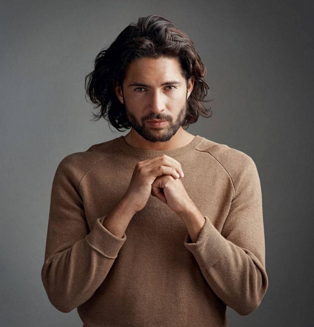 long hairstyles for.men with thick hair