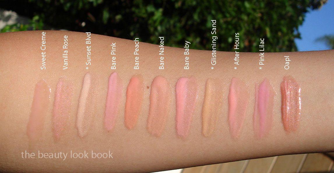 �ล�าร���หารู��า�สำหรั� Laura Mercier Bare Pink Lip Glace