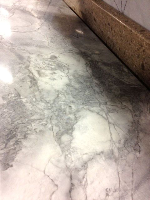 Granite Looks Like Marble Arabesque White From Renaissance