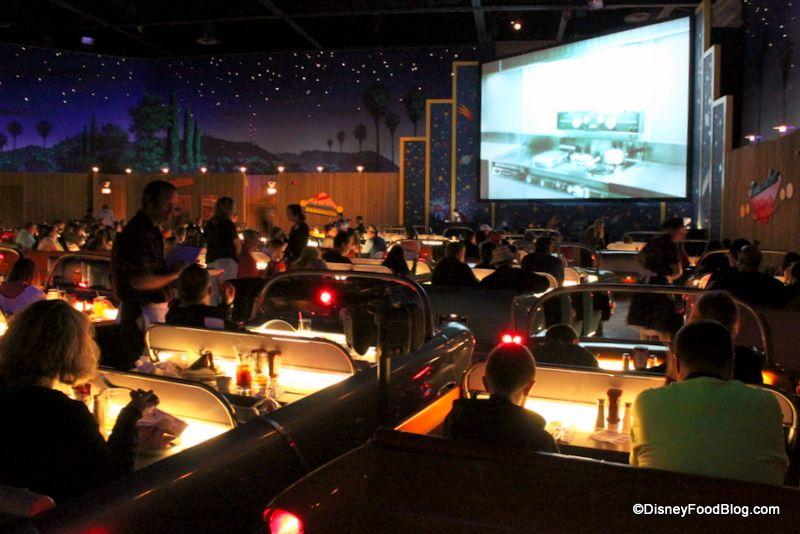 News Breakfast At Sci Fi Dine In Restaurant At Disney S