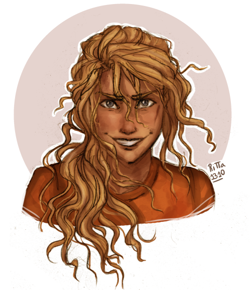 "ritta1310: ""Dark!Annabeth as the 2nd prize of my giveaway. For @wanderingnot-lost More of my art: tumblr, instagram, redbubble and society6 """