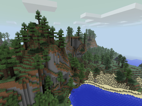 The 10 Best Biomes O Plenty Minecraft Seeds For Lazy Players Minecraft Seed Biomes Minecraft Mountain House