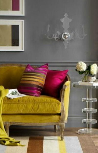 10 Colour Contrast Interior Design Ideas Looking For Some Decorating Ideas For Your Home Then Take A Look At These Colour Trending Decor Home Decor Interior