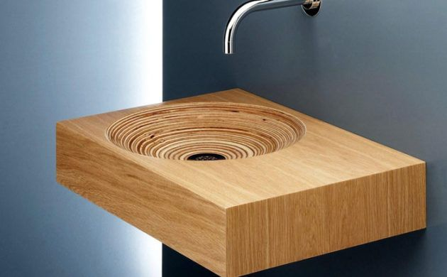 Anders Denken 29 Badezimmer Ideen Mit Holzwaschbecken Interior