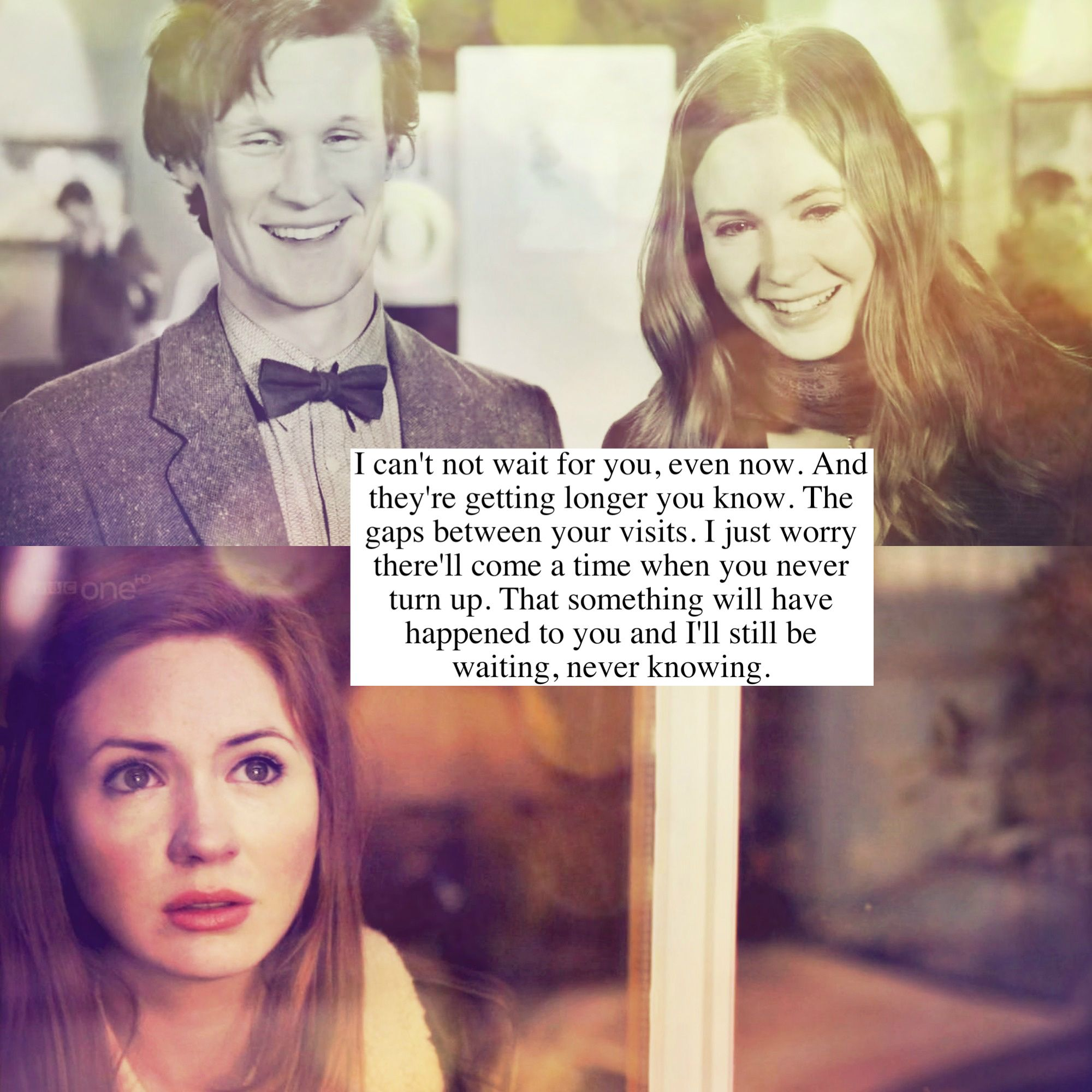 amy pond the girl who waited all night in her garden was it worth rh pinterest com