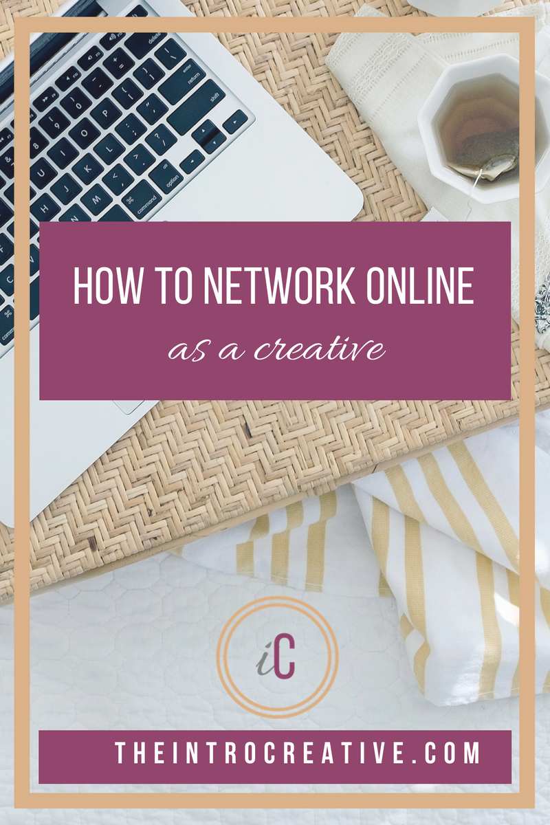 How to Network Online as a Creative