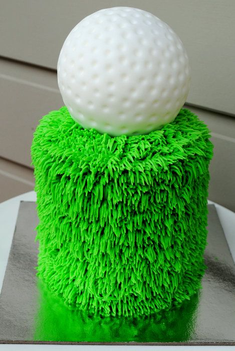 Golf Cake - by Amelia's Cakes @ CakesDecor.com - cake decorating website