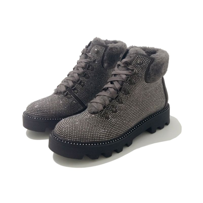 Hiking Strass Le133cannes LacéesBoots Cafe Noir Chaussures f7Y6bgy
