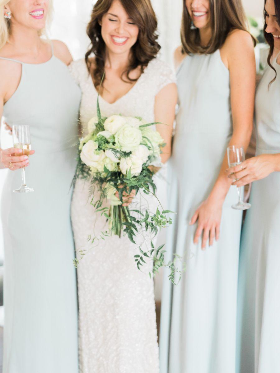 Powder Blue Outdoor Garden Wedding | Vaulting, Floral designs and ...