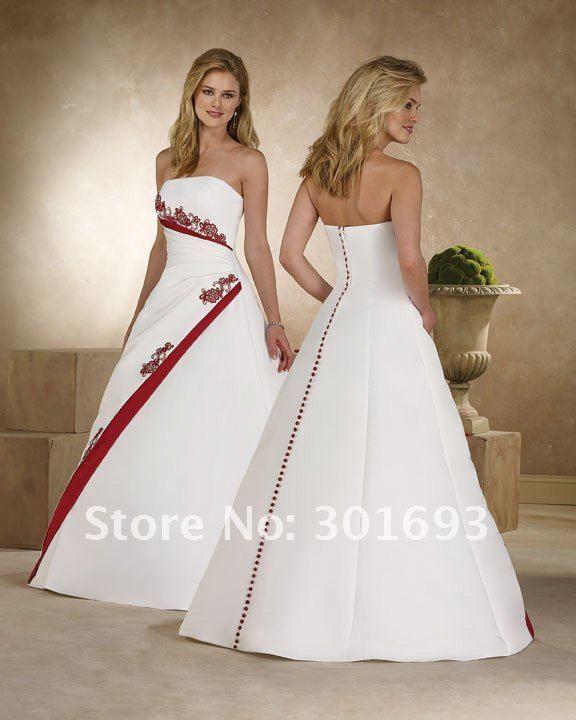 vestidos de novia color rojo arabes | novias | vestidos de novia