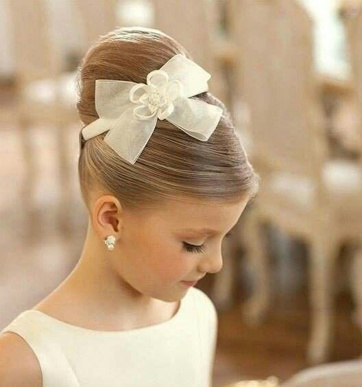 38 Super Cute Little Girl Hairstyles for Wedding | Weddings, Girls ...