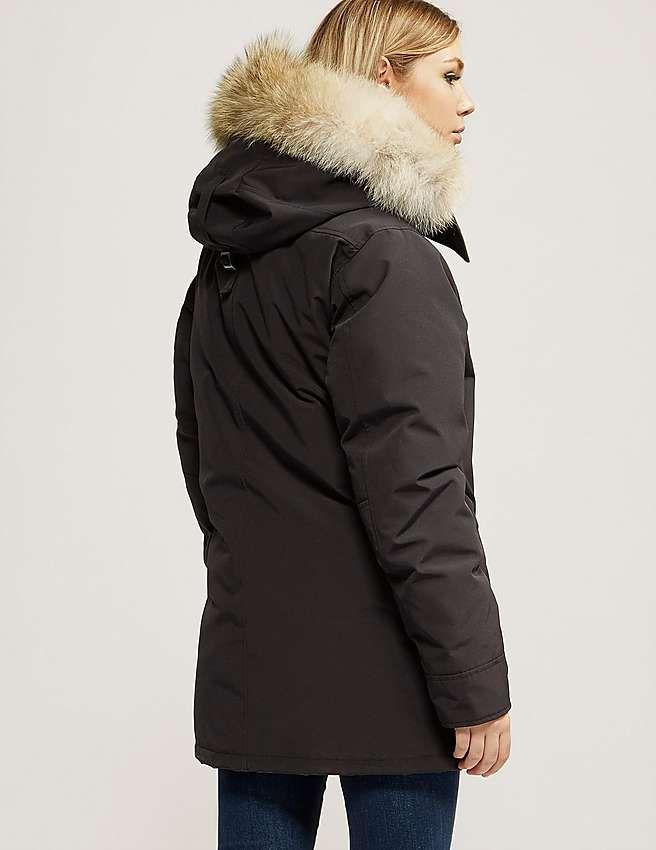 Blue Canada Goose Chateau Parka jakke Dame | canada goose jakke ...